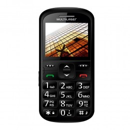 Imagem - Telefone Celular Up Dual P9016, Dual Chip, Camera, MP3, Bluetooth, Preto - Multilaser