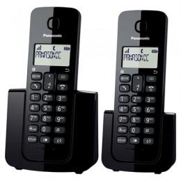Imagem - Telefone sem Fio + Ramal com ID KX-TGB112LBB Preto - Panasonic