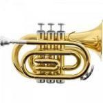Imagem - Trompete Pocket Bb HMT-500L Laqueado - Harmonics