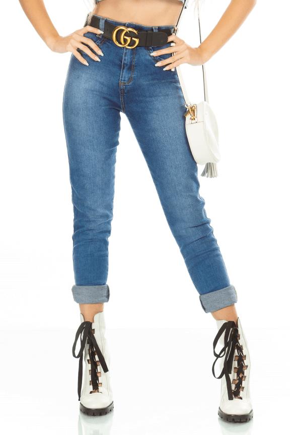 Calça Jeans Hot Pants