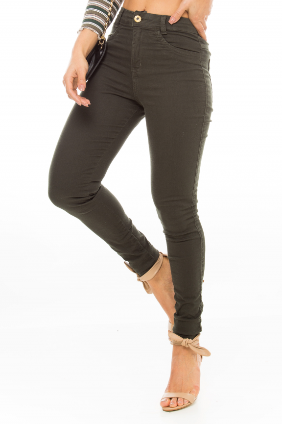 Calça Jeans Skinny Hot Pants