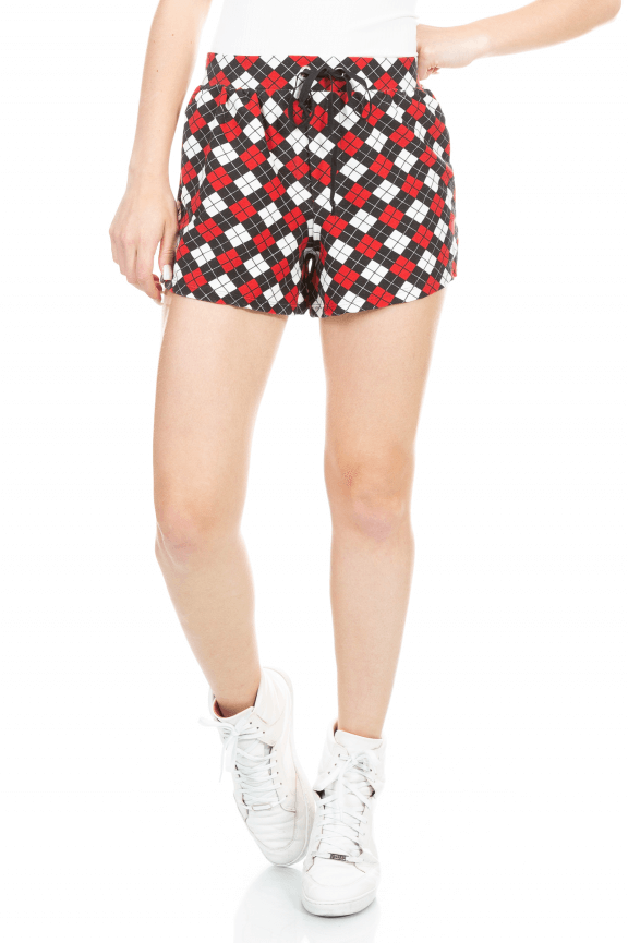 Shorts Esportivo Estampado