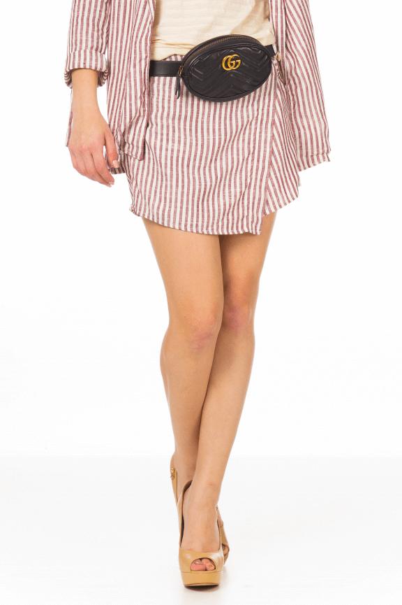 Shorts Saia em Linho com Cinto