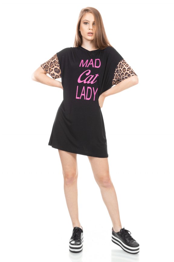 T-shirt Dress Animal Print