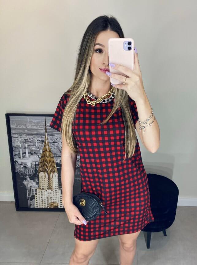 T-shirt Dress Estampado