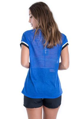 Imagem - T-shirt com Transparência e Estampa