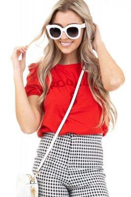 Imagem - Blusa Cropped com Ombreira