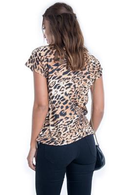 Imagem - Blusa de Onça com Estampa