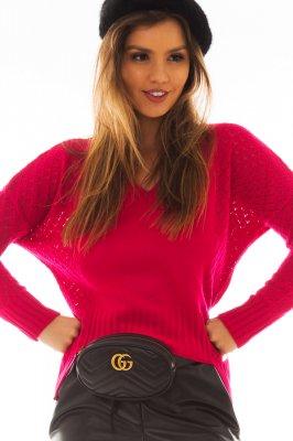 Imagem - Blusa de Tricô com Barra Assimétrica