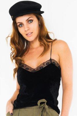 Imagem - Blusa Velvet com Detalhe de Renda