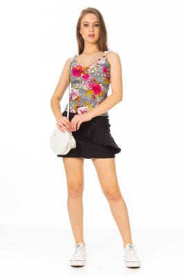 Imagem - Blusa Estampada de Alcinha