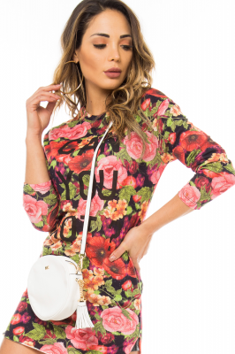 Imagem - Blusa Floral com Lettering