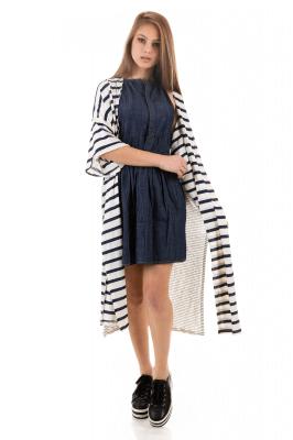 Imagem - Kimono Longo Listrado