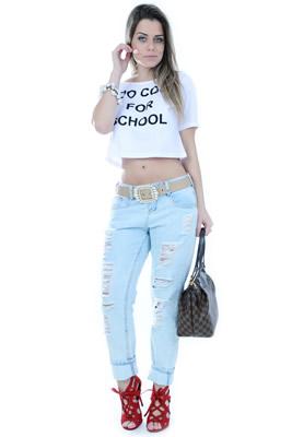 Imagem - Calça Boyfriend Jeans