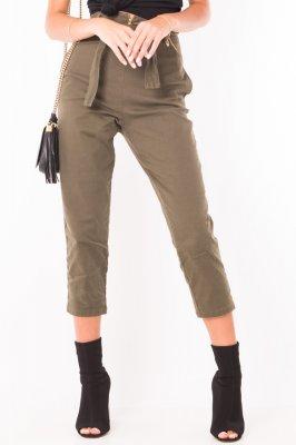 Imagem - Calça Cropped Sarja Hot Pants