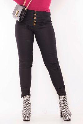 Imagem - Calça Jeans Hot Pants com Botões