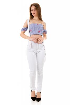 Imagem - Calca Hot Pants com Suspensório