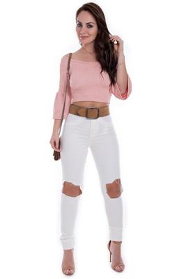 Imagem - Calça Hot Pants Destroyed Collor