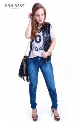 Imagem - Calça Jeans Skinny
