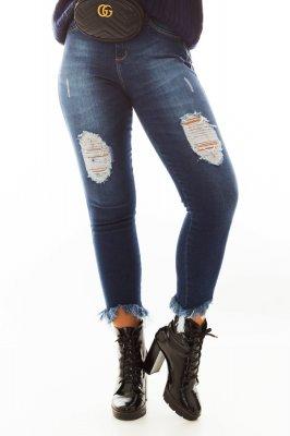 Imagem - Calça Jeans Hot Pants Destroyed