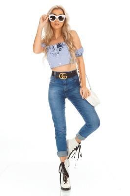 Imagem - Calça Jeans Hot Pants