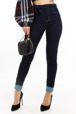 Imagem - Calça Jeans Skinny com Suspensório
