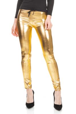 Imagem - Calça Metalizada em Cirrê
