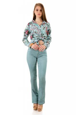 Imagem - Camisa com Estampa Floral