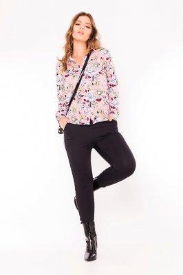 Imagem - Camisa Manga Longa Estampa Floral