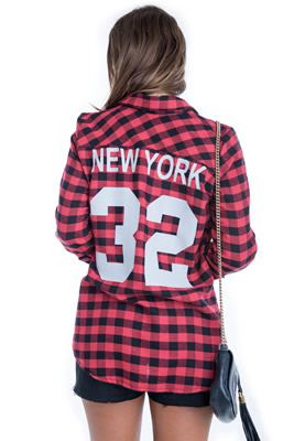 Imagem - Camisa Xadrez New York