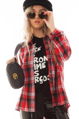 Imagem - Camisa Xadrez Manga Longa com Bolso