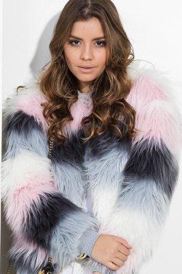 Imagem - Casaco Faux Fur Colors