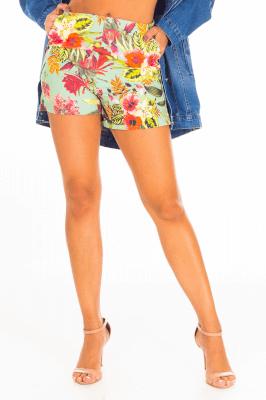 Imagem - Shorts Alfaiataria Estampado