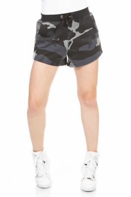 Imagem - Shorts Camuflado em Moletinho