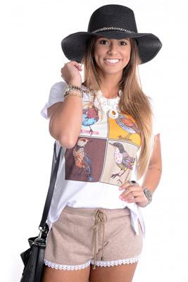 Imagem - Shorts com Renda