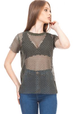 Imagem - T-shirt com Frente em Tela