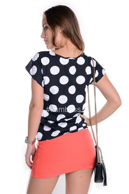 Imagem - T-shirt de Poá