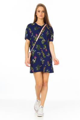 Imagem - T-shirt Dress Estampado