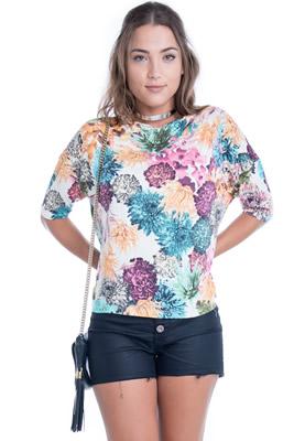 Imagem - T-shirt Floral
