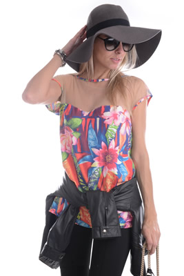 Imagem - T-shirt Flores