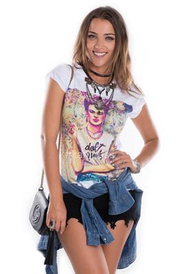 Imagem - T-shirt Frida Kahlo