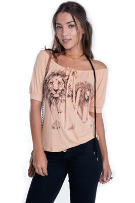 Imagem - T-shirt Lion