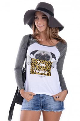 Imagem - T-shirt Pug