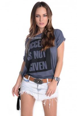 Imagem - T-shirt com Estampa Sucess