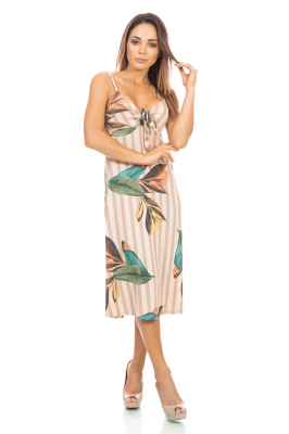 Imagem - Vestido Alcinha Estampado
