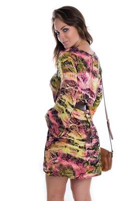 Imagem - Vestido Animal Print