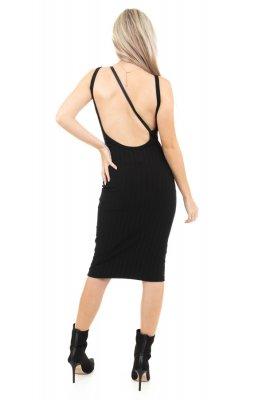 Imagem - Vestido Bandage com Decote Costas