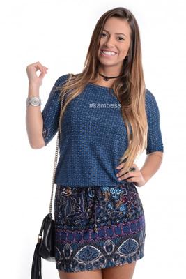 Imagem - Vestido Barrado