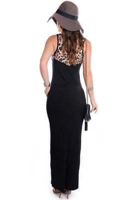 Imagem - Vestido Longo com Recorte