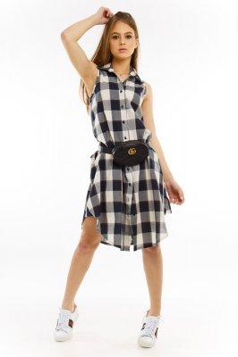 Imagem - Vestido Chemise Estampado